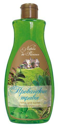 Пена д/ванн NATURE DE PROVINCE Прованские травы (тонизирующая) 460мл