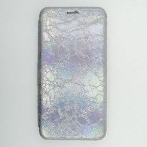 Чехол Huawei Honor 10 Lite Magic сeребристый переливается