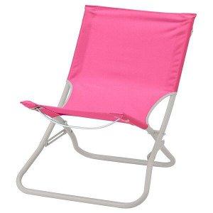 ХОМЭ Пляжный стул, розовый
