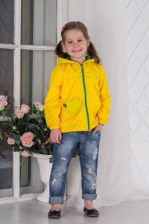 Ветровка КРОХА девочка (на флисе)
