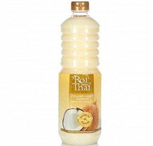 Кокосовое масло 100% рафинированное ROI THAI  1000 мл пэт , Тайланд