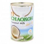 Кокосовое молоко CHAOKOH лайт 400 мл ж/б 1/24