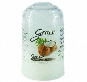 Grace. Кристаллический дезодорант Грейс,  Кокос, 40 гр