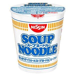 NISSIN Суп-лапша с морепродуктами 60гр 1*20