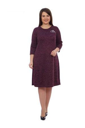 Платье Варвара (бордовое)