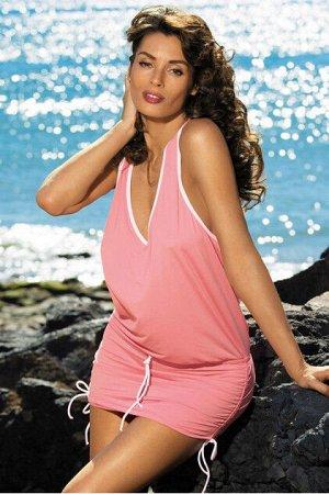 M 313 ELSA Пляжное платье-туника (розовый)