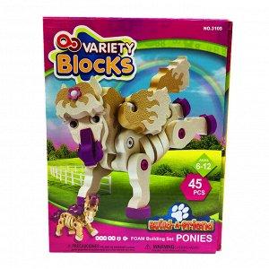 Развивающая игрушка Зверята MK-3105 (19,5*6*26 см)
