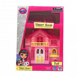 Кукольный домик HD-235 (30*21,5*7 см)