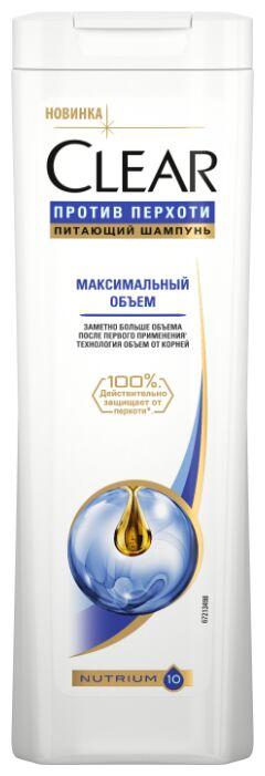 Шампунь CLEAR CARAT 400мл Максимальный объем пр/перхоти Женский