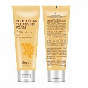 """KR/ ALEUMI PURE CLEAN Пенка для умывания """"Пчелиное маточное молочко"""", 120мл"""