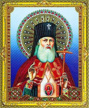 ✅Алмазная мозаика 40*50см Икона Святитель Лука