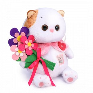 Ли-Ли BABY с цветами из фетра мягкая игрушка