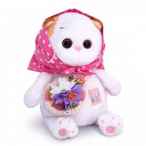 Ли-Ли BABY в косыночке и с корзинкой мягкая игрушка