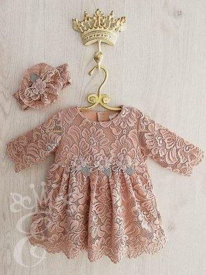 Платье кружевное Ободок кружевной 91068ПОр