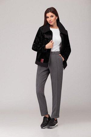 Куртка Куртка Liberta 506  Состав: ПЭ-98%; Спандекс-2%; Сезон: Весна Рост: 164  Куртка весенняя на подкладке. Ткань верха с пропиткой на основе искусственного замша. Куртка прямого силуэта, на молнии