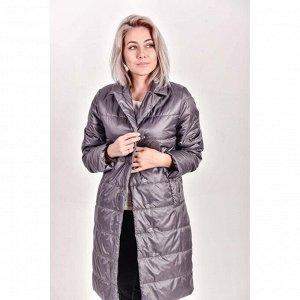 Пальто демисезонное  с  отложным воротником