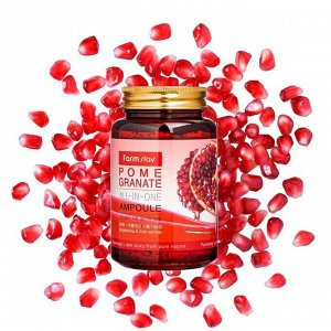 KR/ FarmStay Ампульная сыворотка POMEGRANATE All-In-One Ampoule (Гранат), 250мл