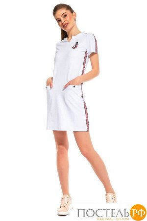 Платье Caetlin Цвет: Белый. Производитель: Peche Monnaie