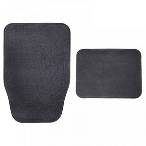 NEW GALAXY Набор ковров ворс 4шт, универсальные, серые Gray