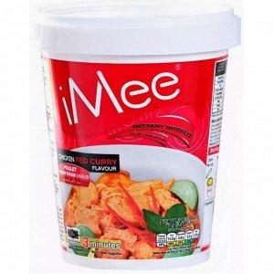 "Сублимированная лапша со вкусом курицы с красным карри ""iMee Chicken Red Curry"" 70 гр."