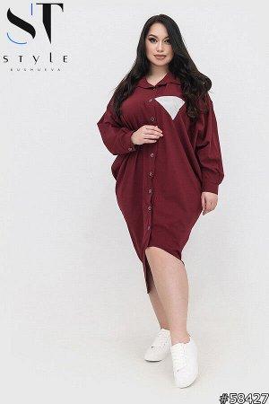 Платье-рубашка 58427