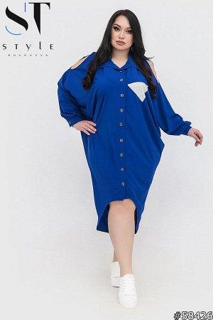Платье-рубашка 58426