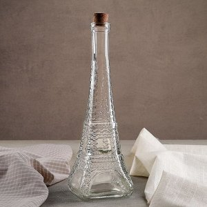 Бутылка для масла «Париж», 350 мл, 9?27 см