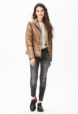 """Куртка """"Викки""""  коричневый"""