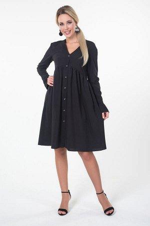 Платье Шарлотта №1.Цвет:черный
