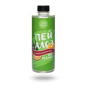 Напиток безалкогольный «ПЕЙ АЛОЭ» с алоэ, манго и маракуйей, 330 мл