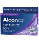 1-мес контактные линзы AIR OPTIX AQUA MULTIFOCAL 3 линзы