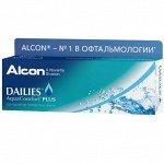 Однодневные контактные линзы DAILIES AQUACOMFORT Plus 30 линз