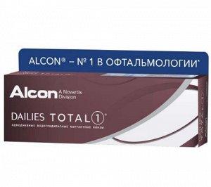 Однодневные контактные линзы Dailies Total 1 30 линз