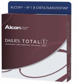 Однодневные контактные линзы Dailies Total 1 90 линз