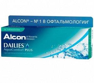 Однодневные контактные линзы Dailies AquaComfort Plus Астигматизм 30 линз