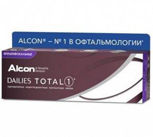 Однодневные контактные линзы Dailies Total 1 Multifocal 30линз