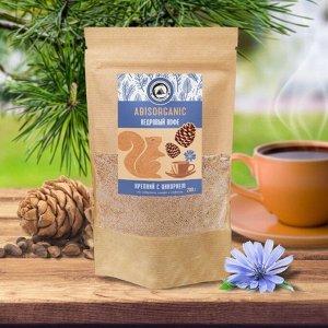 Кедровый кофе Abisorganic крепкий с цикорием без сахара и кофеина