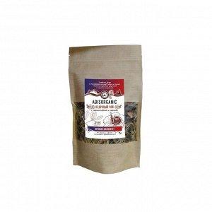 Кедровый чай Abis organic с черноплодкой и каркаде