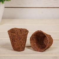 Моё поместье. Товары для сада!  — Изделия для рассады. Горшки из кокосового волокна — Рассада и саженцы