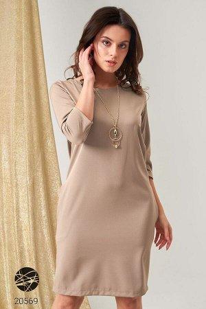 Платье с боковыми карманами