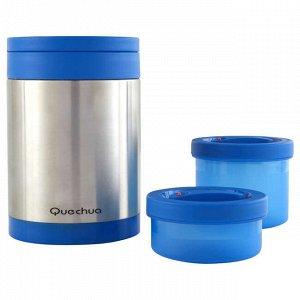 Термос из нержавеющей стали (с 2 контейнерами для продуктов)