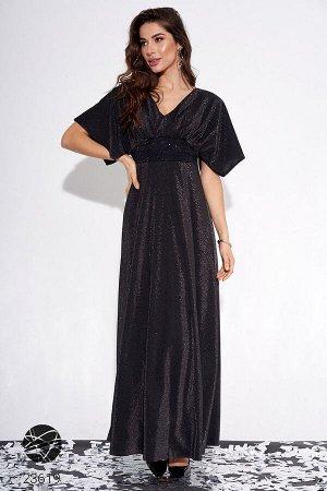Платье макси с рукавами-кимоно