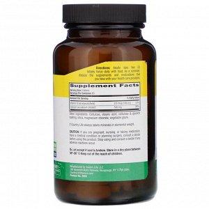 Country Life, Цитрат кальция с витамином D, 120 таблеток