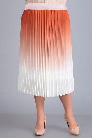 Юбка миди П/э-95%, эластан -5% Рост: 164-170 см. Плиссированная юбка — способна подойти к любому образу: романтичному и легкому, элегантному и изысканному или же яркому и броскому. Также прекрасно мас