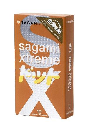 Презервативы латексные Sagami Xtreme Feel Up №10, 19 см
