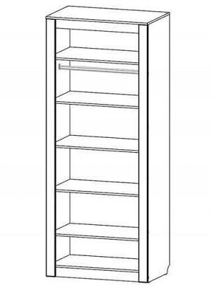 Шкаф 2-х створчатый