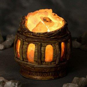 """Соляная лампа """"Колизей"""", керамическое основание, 16 см, 1-2 кг"""