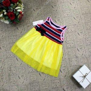Рост 105-110. Детское платье Lisa_Wils из дышащей ткани.