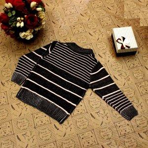 Рост 130-138. Стильная детская кофта Falcon темно-серого цвета с белыми переходами.