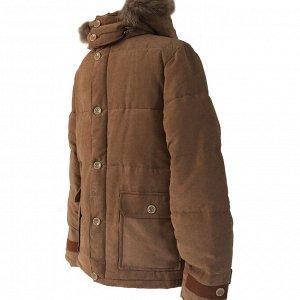 Размер 44. ?Современная утепленная мужская куртка Adrian горчичного цвета.